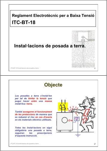ITC-BT-18 Objecte - Xtec