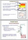 Instal·lació de receptors. Cables i plafons radiants en ... - Xtec - Page 2