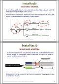 Instal·lació de receptors. Cables i plafons radiants en ... - Xtec - Page 3