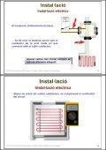 Instal·lació de receptors. Cables i plafons radiants en ... - Xtec - Page 4