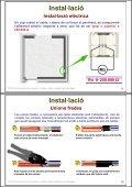 Instal·lació de receptors. Cables i plafons radiants en ... - Xtec - Page 5