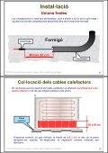 Instal·lació de receptors. Cables i plafons radiants en ... - Xtec - Page 6