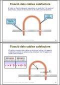 Instal·lació de receptors. Cables i plafons radiants en ... - Xtec - Page 7