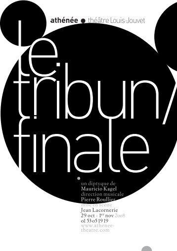 Le Tribun/Finale