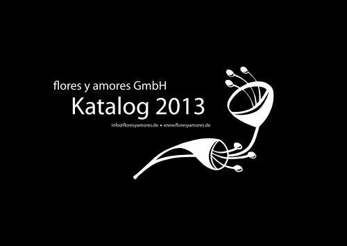 Katalog 2013 - Flores y Amores
