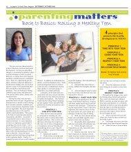 Raising a Healthy Teen - Colonial Times Magazine