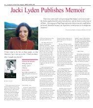 Jacki Lyden Publishes Memoir - Colonial Times Magazine