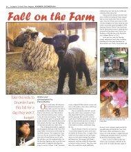 Fall on Drumlin Farm - Colonial Times Magazine