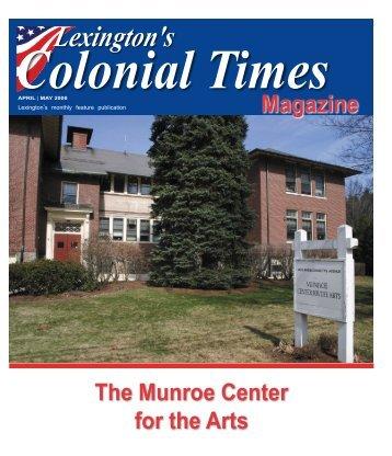 Lexington's - Colonial Times Magazine