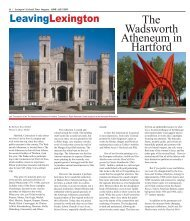 The Wadsworth Atheneum in Hartford - Colonial Times Magazine
