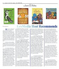 Summer reading 2009 - Colonial Times Magazine