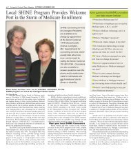 SHINE Program Helps Seniors with Medicare - Colonial Times ...