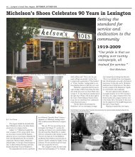 Michelson's Shoes Celebrates 90 Years in Lexington