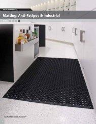 Matting: Anti-Fatigue & Industrial - Mats Inc.