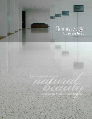 Floorazzo™ Terrazzo Tile Brochure - Mats Inc.