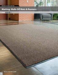 Matting: Walk-Off Mats & Runners - Mats Inc.