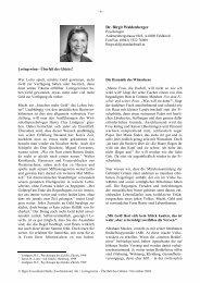 Dr. Birgit Waldenberger Foto: Dr. Wal- denberger