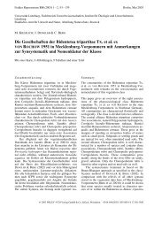Die Gesellschaften der Bidentetea tripartitae Tx. et al. ex von ...