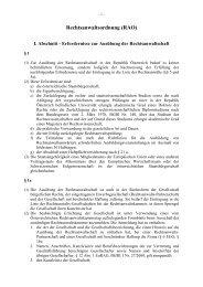 Rechtsanwaltsordnung (RAO)