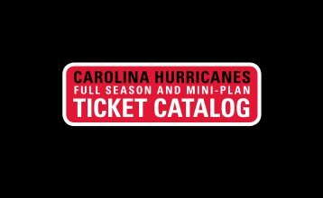 Full Catalog (PDF) - Carolina Hurricanes