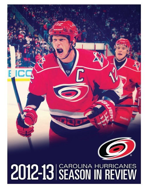 2012-13 Carolina Hurricanes Season in Review Guide