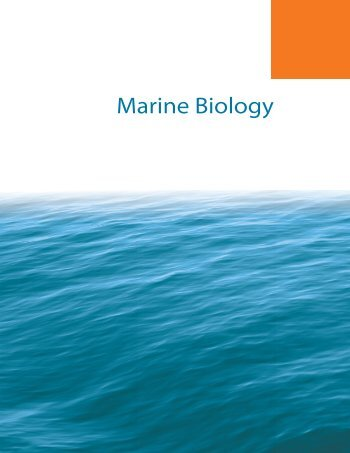 New 4th Edition of Marine Biology about to be published!