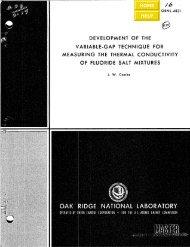 ORNL-4831 - the Molten Salt Energy Technologies Web Site