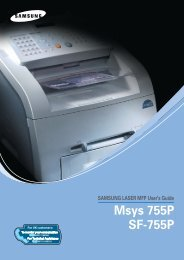 SF-755P Users Guide & Owners Operation Manual - OlsonBros