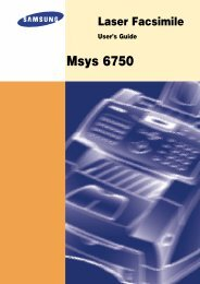 MSYS-6750 Users Guide & Owners Operation Manual - OlsonBros