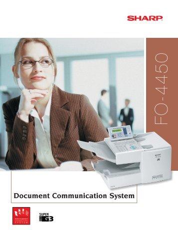Sharp FO-4450 brochure.pdf - G Five