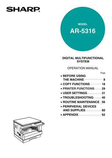 AR-5316 Operation Manual