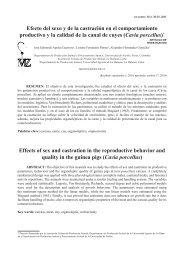Efecto del sexo y de la castración en el comportamiento productivo y ...