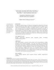 estudio de recepción teatral - revistas medicas mexicanas