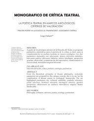 MONOGRAFICO DE CRÍTICA TEATRAL