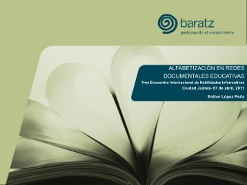 alfin en redes documentales educativas - Biblioteca Virtual