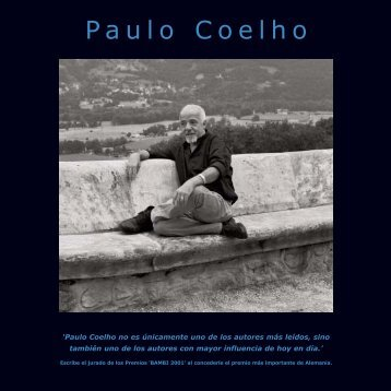 Paulo Coelho - Biblioteca virtual de la Universidad del Turabo