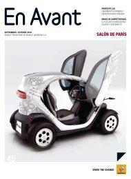 Renault Argentina en el Salón de París