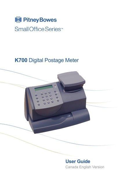 K700 Digital Postage Meter Asap Ink Bc