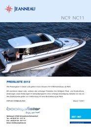 NC9 NC11 - zu Boote Pfister