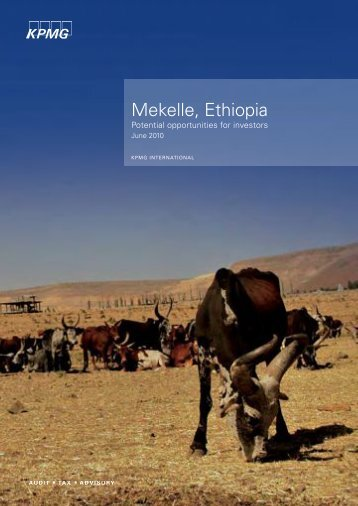 Mekelle, Ethiopia - Millennium Cities Initiative - Columbia University