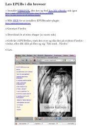 Læs EPUBs i Firefox med EPUBreader plug - Kenneth Krabat ...