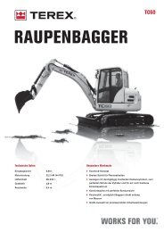 RAUPENBAGGER - Baumaschinen Handel GmbH
