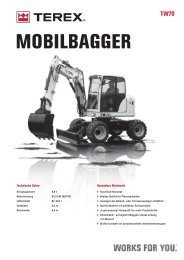 MOBILBAGGER - Baumaschinen Handel GmbH
