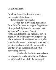 Fuck! hvad var dé… - Kenneth Krabat @ menneske.dk - Menneske