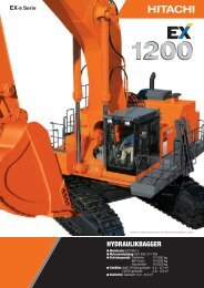 PDF (3,56 MB) - Hitachi Construction Machinery Europe