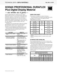 KODAK PROFESSIONAL DURAFLEX Plus Digital Display ... - 125px