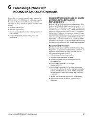 6 Processing Options with KODAK EKTACOLOR Chemicals - 125px