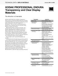 KODAK PROFESSIONAL ENDURA Transparency and ... - 125px