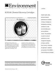 KODAK Chemical Recovery Cartridges - 125px