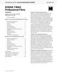 KODAK T-MAX Professional Films - 125px
